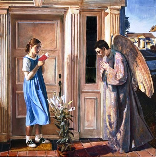 Annunciation, by John Collier